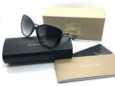 Brand New Burberry Sunglasses BE 4238 3001/8G Black/Grey Gradient For Women (New Burberry Sunglasses)