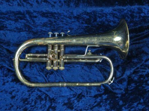 Bach USA 3 Valve Flugelhorn Ser#894697 Good Condition Needs Adjust Lead Pipe