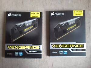corsair Vengeance 4x4gb(16GB total) ddr3 2400MHZ gaming ram Daceyville Botany Bay Area Preview