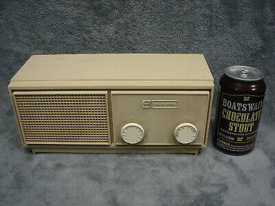 Vintage 1968 RCA Japan Solid State AM Table Top Radio Model RLA11B - Works Great