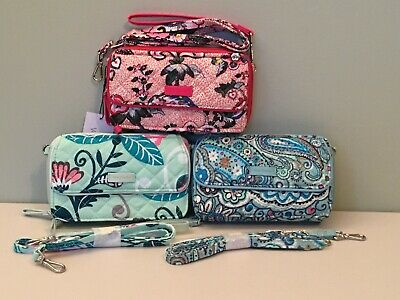 Vera Bradley Iconic RFID All In One Crossbody ~ NWT