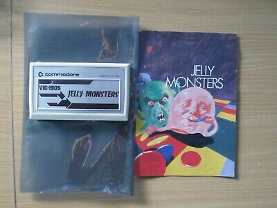 Commodore Vic 20 Computer Jelly Monsters Cartridge In VGC FWO