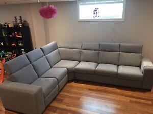 Fauteuil inclinable modulaire avec divan lit