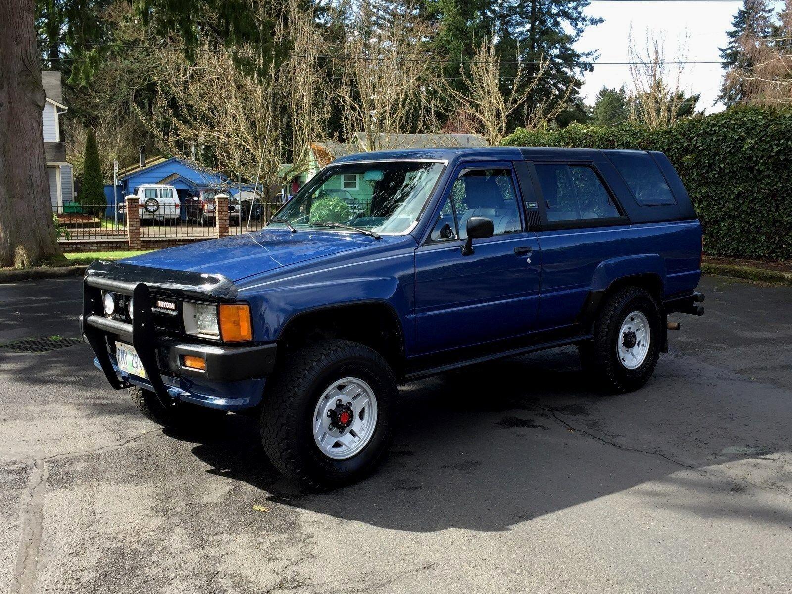 1986 Toyota 4 Runner 4x4 5 Speed 22re 4 Cyl Eng 125k Orig
