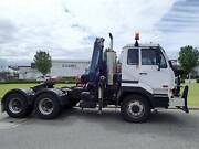 Nissan UD CW 445 PrimeMover fitted with a 15.5 tonne crane Welshpool Canning Area Preview