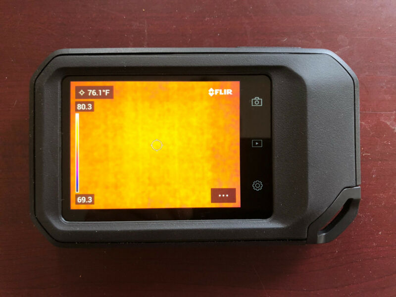 FLIR C5 Compact Thermal Imaging Camera with WiFi Great Condition