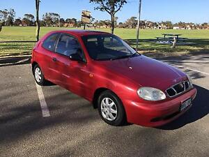 2003 Daewoo Lanos Hatchback 5SP MANUAL Hendon Charles Sturt Area Preview