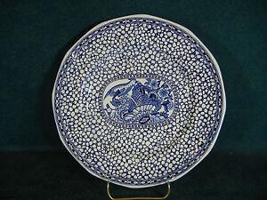 Adams Chinese Bird Blue 9