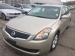 2009 Nissan Altima 2.5SL with leather Certified 5999