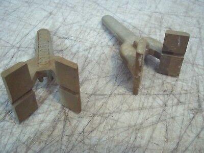 2 Pc Lot Pristine Goldblatt Tool Attachment Smooth Circle Cement Concrete 3-12