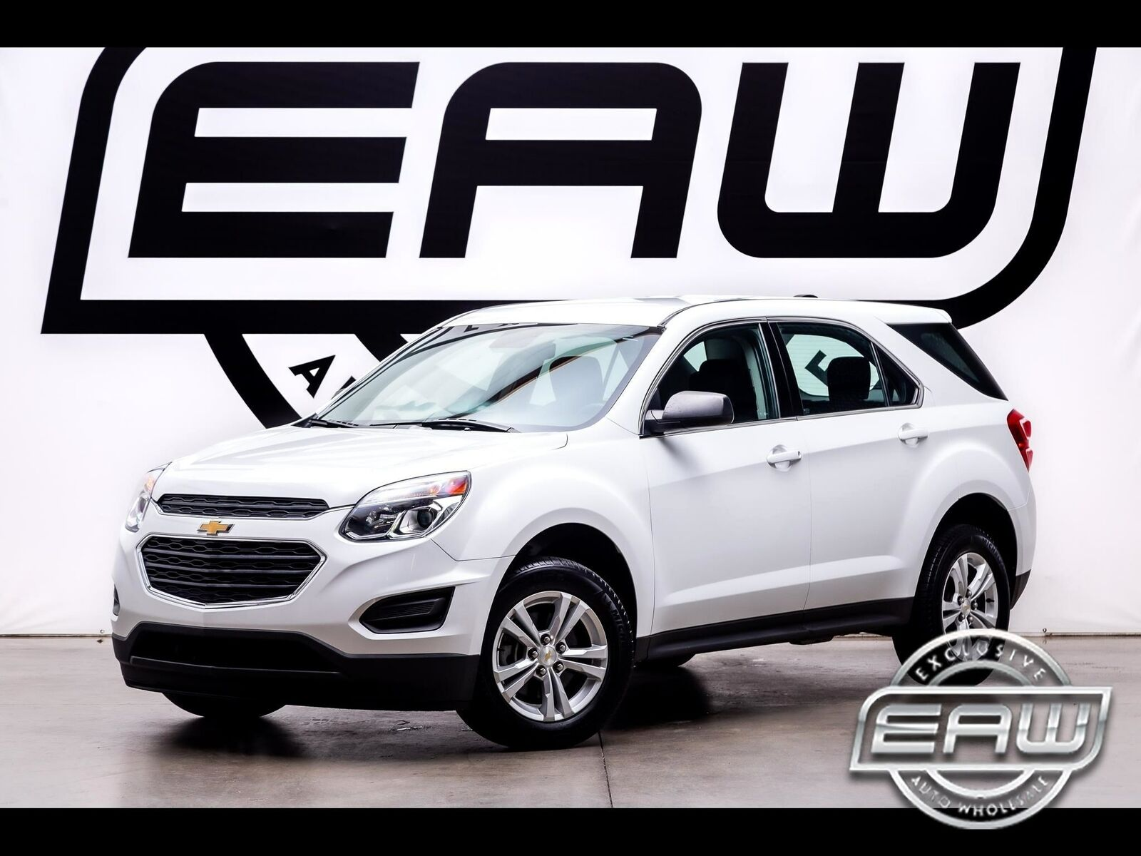 2017 Chevrolet Equinox FWD 4dr LS 55796 Miles White SUV Engine, 2.4L DOHC 4-cyli