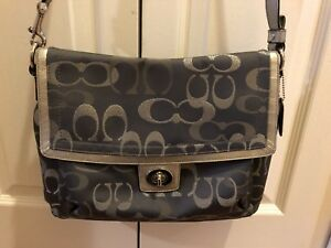 Authentic Coach cross body bag
