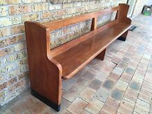 Church pew - oak timber Heatherbrae Port Stephens Area Preview