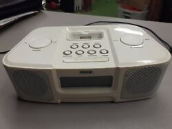 Imode clock radio with docking station for ipod iP210