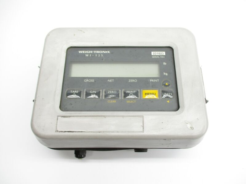 AVERY WEIGH-TRONIX WI-125LTC UNMP