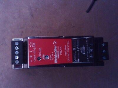 Weidmuller Pro-h Industrial Power Supply 1105430000 New Nib