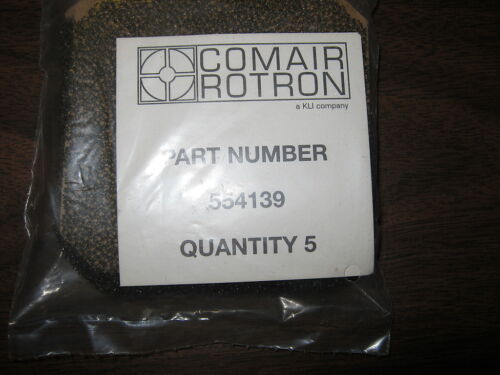 554139 QTY 190 COMAIR ROTRON THERMAL MGMT ACCESS FAN FILTER 80MM PLASTIC