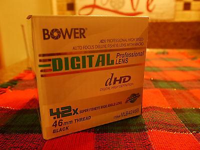0.42x HD Fisheye Lens w/ Macro for Olympus PEN 4/3  14-42, 40-150, 70-300