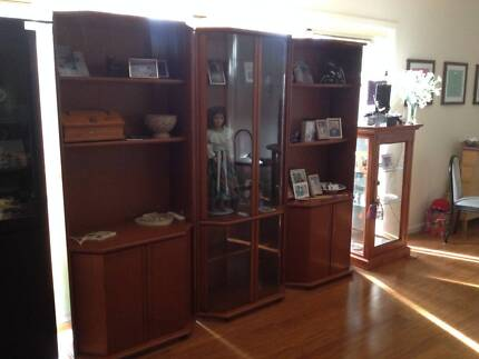 Wall unit - immaculate condition | Cabinets | Gumtree Australia ...