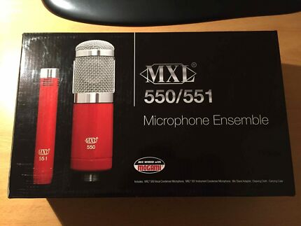 MXL 550/551 Microphones Alexandria Inner Sydney Preview