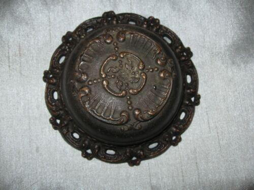 Antique Ornate Brass Door Bell to Refurbish