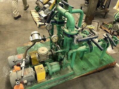 Viking Explosion Proof Process Pump Transfer Skid Chemical Fuel Solvent