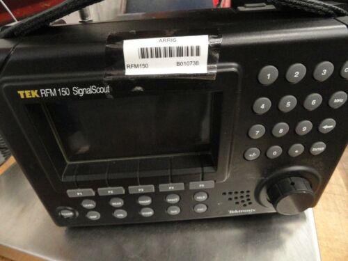 Tektronix TEK RFM 150 SignalScout w/046-upgrade & Power Adapter