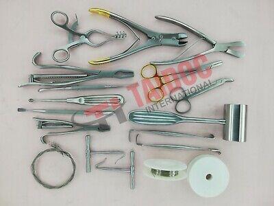 Veterinary Orthopedic 20pcs Set Surgical Veterinary Orthopedic Instruments Pk