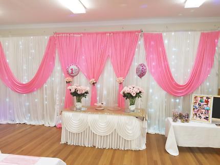 The sinclair wedding co wedding decor hire party hire gumtree govinda event and decoration hire junglespirit Choice Image
