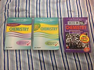 Like new and Unused Chemistry HSC and Preliminary Books Blacktown Blacktown Area Preview