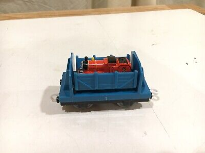 Flip Cargo Car Carrying James for Thomas and Friends Trackmaster