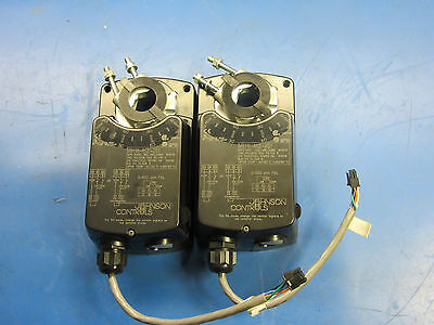 Johnson Controls M9116-age-201491-0083 Electric Actuator.lot Of 02 E33