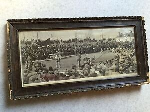 OLD antique photograph of RCMP