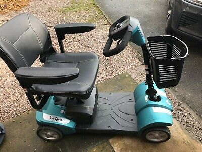 Rascal Veo Sport Mobility Scooter Teal