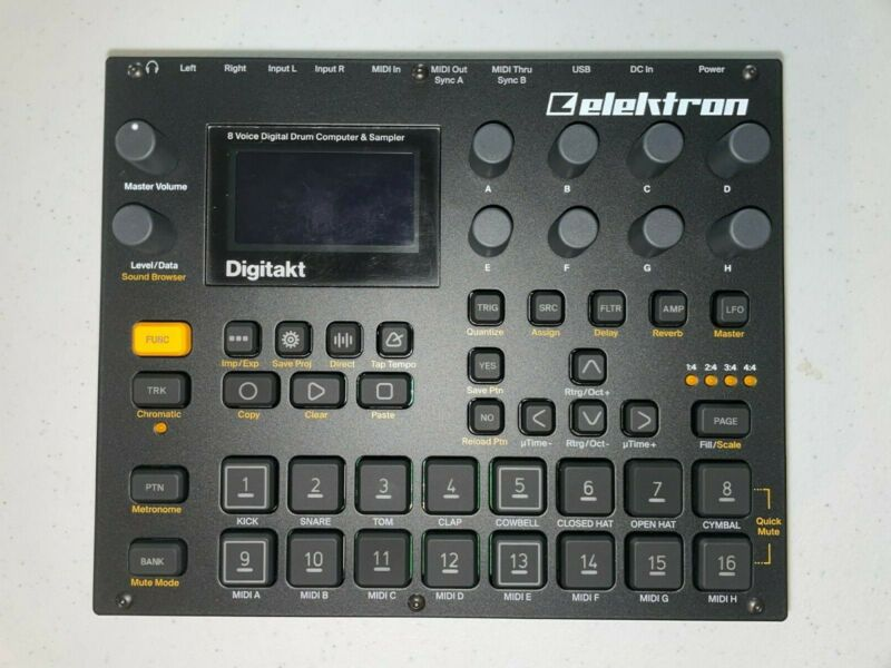Elektron Digitakt digital drum computer/sampler in near-perfect condition