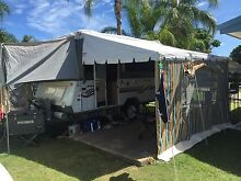 Jayco swan outback 2000 camper Bundaberg City Preview