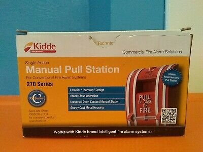 Kidde 270 Series Fire Alarm Manual Pull Station 270 Series Brand New In Box