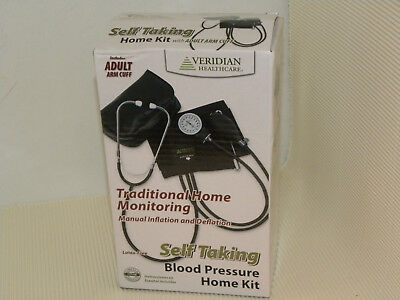 VERIDIAN HEALTHCARE Self Taking Blood Pressure Monitor Home Kit Easy to Use New