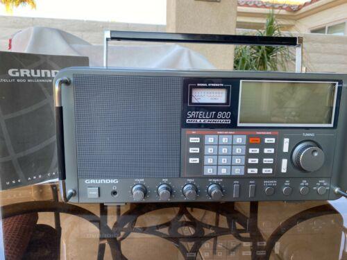 Grundig Satellit 800 Shortwave AM FM Radio Receiver with manual * FREE SHIPPING