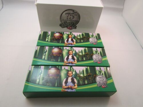 Wizard of Oz 75th Anniversary Watch Set of 3 Dorothy Toto Scarecrow Lion