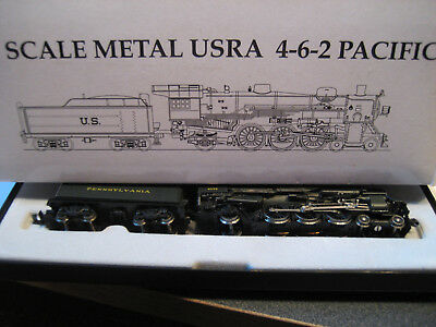 Model Power  N Scale Metal Usra 4 6 2 Pacific Locomotive  7401 Pennsyvania  2032