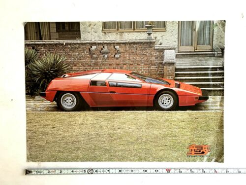 1978 DOME ZERO P-2 FACTORY SALES BROCHURE JAPANESE PROTOTYPE SPORTS CAR ORIGINAL