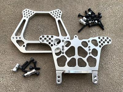 Aluminum Front & Rear Shock Tower Traxxas Rustler 2WD VXL XL5 (Rustler Front Shock Tower)