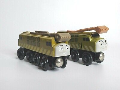 Thomas and Friends Engine Diesel 10 Wooden Train with Sliding Claw Two Versions