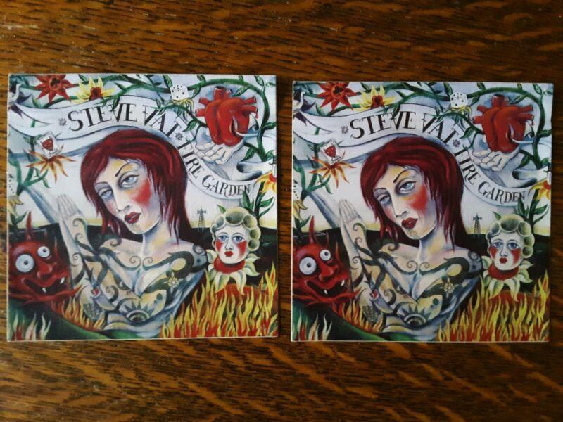 Steve Vai Fire Garden Promo Decal Stickers 2 5.5  Inch