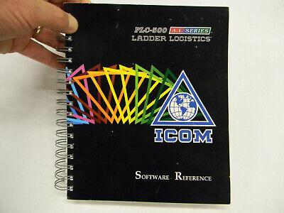 New Icom Plc-500 Software Reference Allen Bradley Plc-500 D4