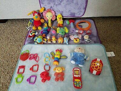 Lot of 20+ Baby Boy Girl Infant Toddler Developmental Sensory Toys Many Brands!