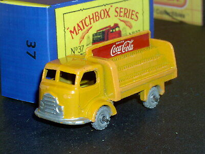 Matchbox Lesney Karrier Coca Cola Lorry 37 a2 MW D-C SC10 EX/NM & crafted box