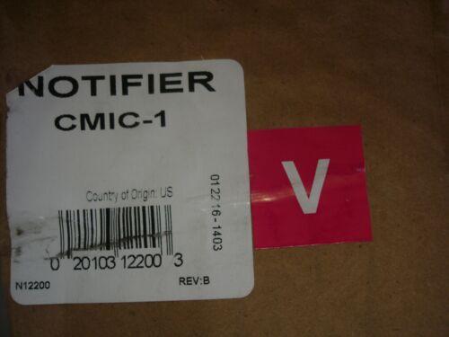 "NOTIFIER CMIC-1  ""NEW"""