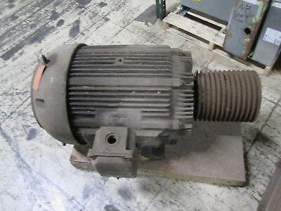 Allis-chalmers Ac Motor Gzz 60hp 1200rpm Fr 444u 220440v 14472a Used